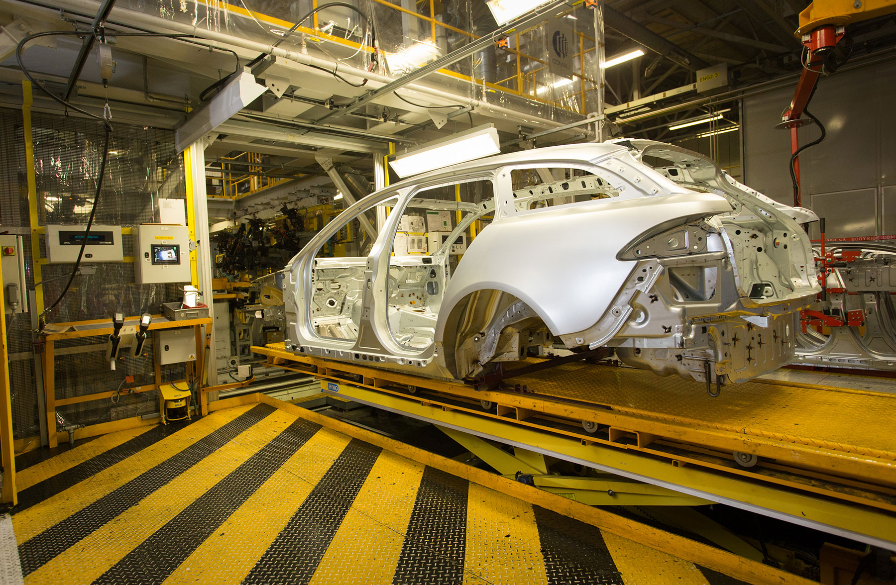 Jaguar Landrover Production Line
